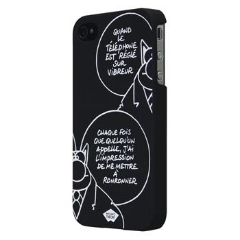 Pouzdro pro telefon iPhone 4/4S, černé