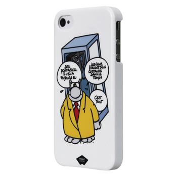 Pouzdro pro telefon iPhone 4/4S, bílé