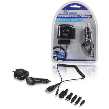 2x USB auto/domácí nabíječka