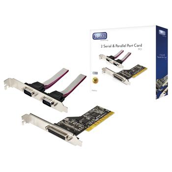 PCI karta - 2x sériový port, 1x paralelní port