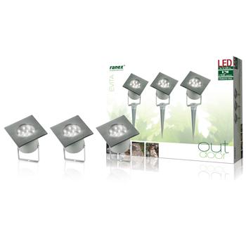 Zemní bodové LED svítidlo