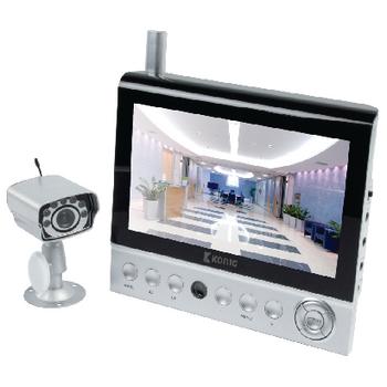 Bezdrátový kamerový systém se 7palcovým LCD monitorem