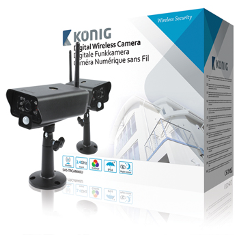 Digitální bezdrátová kamera 2,4 GHz pro SEC-TRANS60