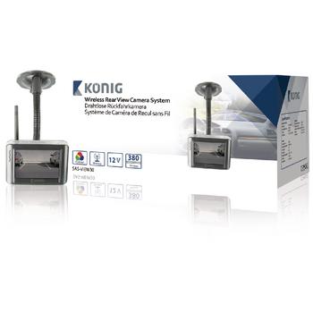 Bezdrátový couvací kamerový systém