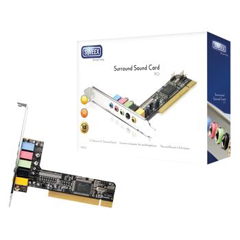 5.1 PCI zvuková karta