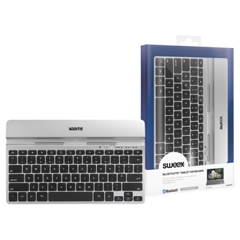 Bluetooth klávesnice k tabletu, UK