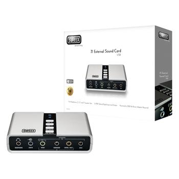 7.1 externí USB zvuková karta