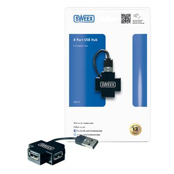 USB rozbočovač, 4 porty