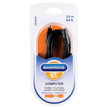 Bandridge - Firewire® 4till4 kabel