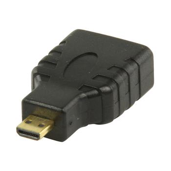 HDMI™ adaptér s konektory HDMI™ mini – HDMI™ vstup, černý