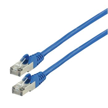 Patch kabel CAT 7, 5 m, modrý