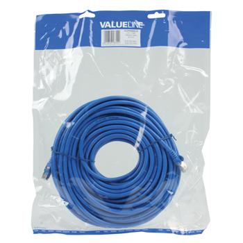 Patch kabel CAT 7, 20 m, modrý