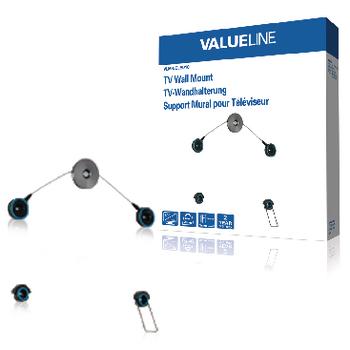 Nástěnný držák televizoru pro LED TV, 42 až 60 quot; / 107 až 152 cm, 25 kg