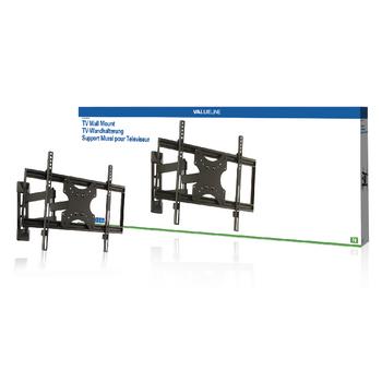 Nástěnný držák televizoru, full motion, 42 až 65 quot; / 107 až 165 cm, 50 kg