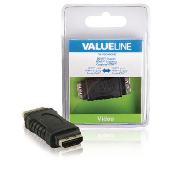 Spojka HDMI s konektory HDMI vstup – HDMI vstup, černá