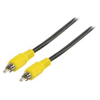 Kompozitní video kabel s konektory RCA zástrčka – RCA zástrčka 5,00 m černý