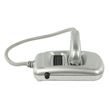 SCART rozbočovač s přepínačem, zástrčka SCART – 2× zásuvka SCART, 0,50 m, stříbrný