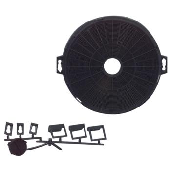 Filtr do odsáváčů 210mm - pachový, antibakter.
