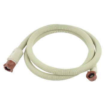 Napouštěcí hadice s vodostopem, 3/4 quot; zahnutá - 3/4 quot; rovná, délka 2,50 m