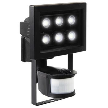 Venkovní 6 LED reflektor s pohybovým čidlem