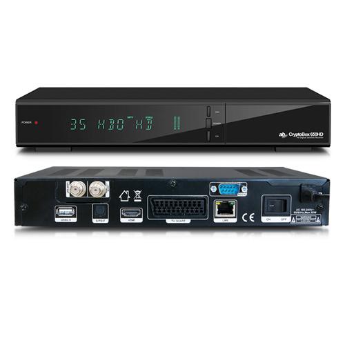 AB DVB-S2 přijímač Cryptobox 650HD