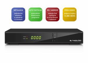 AB DVB-S2 přijímač Cryptobox 700HD