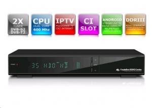 AB DVB-S2/T2 přijímač Cryptobox 652HD Combo