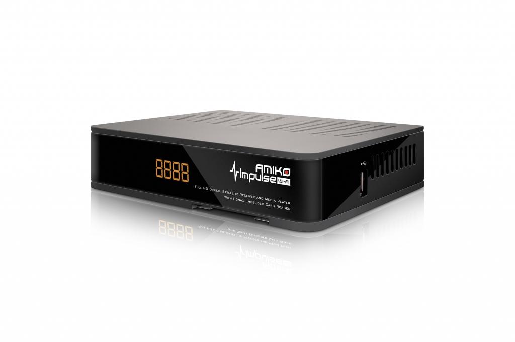 AMIKO DVB-S2 přijímač Impulse wifi
