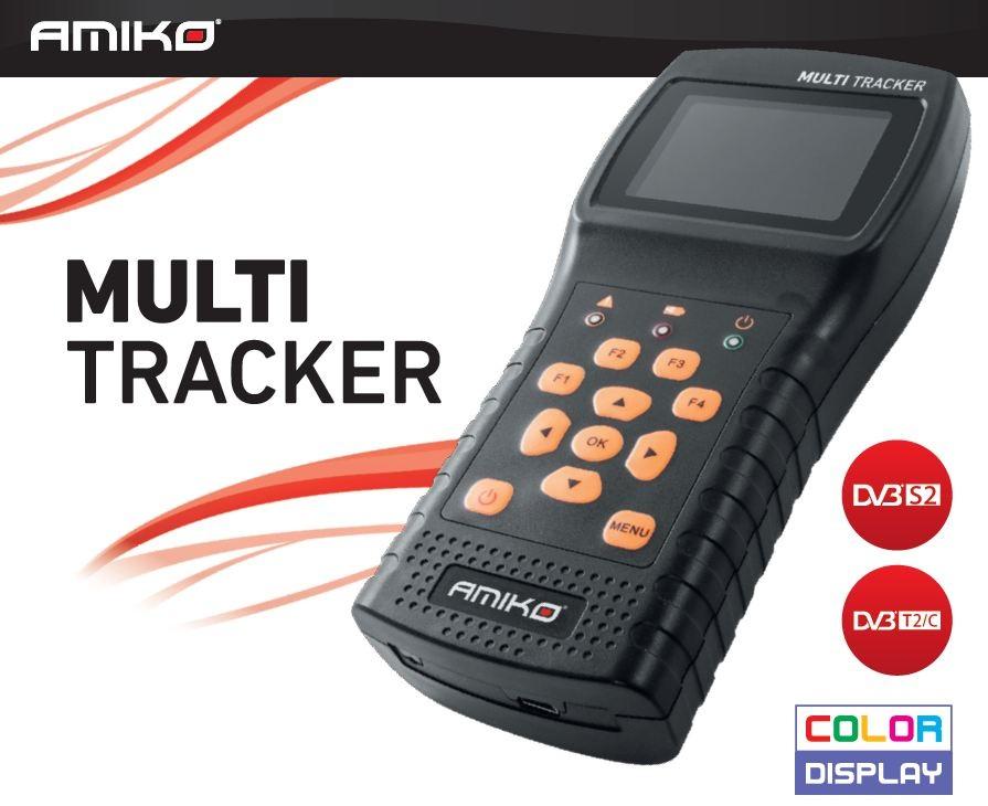 AMIKO Multi tracker DVB-S/S2/T/T2/C