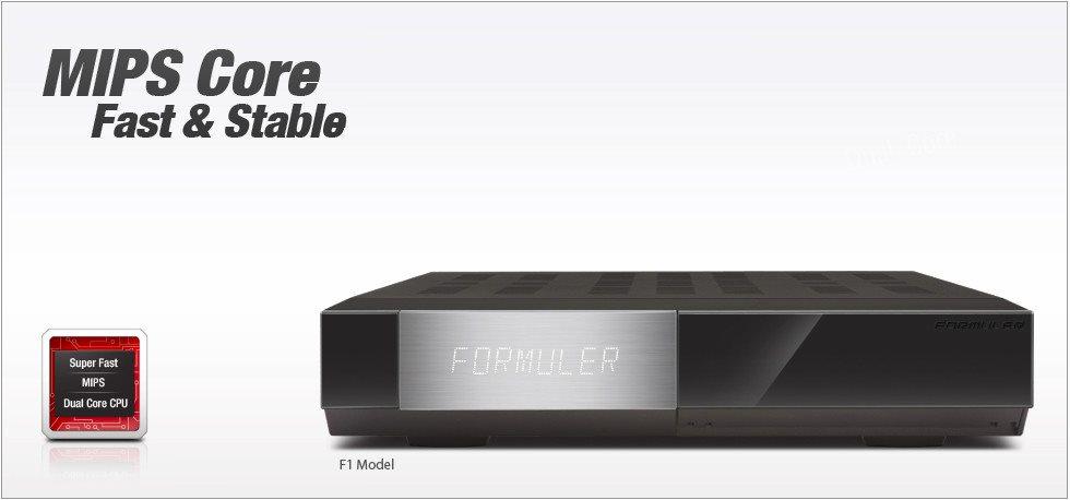 Formuler F1 Triple kombo - 2 x S2 tuner + 1 x T2/C tuner