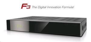 Formuler F3 NEW- Full HD satelitní přístroj, Enigma 2