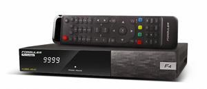 Formuler F4 TURBO - Full HD HEVC H265 satelitní přístroj, Enigma 2, 1 x DVB-S2 tuner