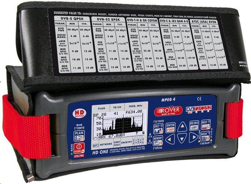 Měřící přístroj ROVER HD ONE, PROF. HD ANALYZER