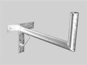 OEM držák antény na zeï 60 cm s podpìrou - žárový zinek