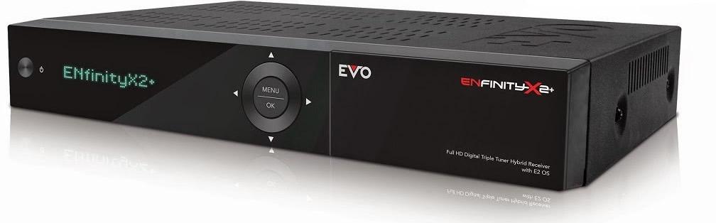OPTIBOX EVO ENfinity X2+ (S2+S2) satelitní přijímač