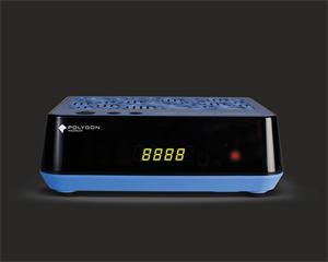Polygon DVB-S2 přijímač MEDIUM s prohlížečem,CI slot