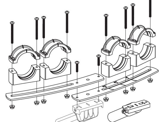 TS multifocus pro 4 LNB Economy line 80cm / 4 LNB Media, Profi line 80 - 100cm