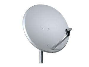TS parabola offset 85 Al Media line bílá