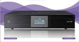 VU+ Solo 4K - Satelitní UHDTV přijímač - dual Tuner DVB-S2