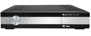 ZIRCON DVB-S2 přijímač Twin tuner CI LAN PVR FastScan