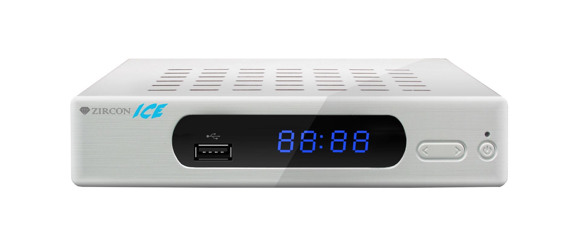 ZIRCON ICE DVB-T2 HD přijímač s HEVC DVB-T2 ověřeno