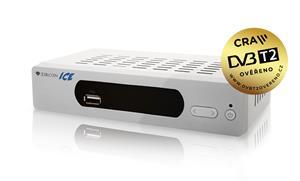 ZIRCON ICE, DVB-T2 pøijímaè, H.265 (HEVC), ovìøeno CRA